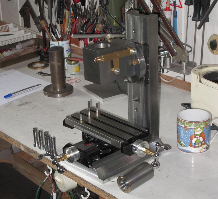 fr sspindel selbstbau metallteile verbinden. Black Bedroom Furniture Sets. Home Design Ideas